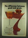 1977 Seagram's 7 Crown Whisky Ad - Good and Great