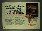 1977 Winchester Super-X Dynapoint Cartridge Ad