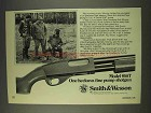 1977 Smith & Wesson Model 916T Shotgun Ad
