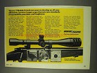 1977 Weaver T Model Scopes Ad - Two Years To Develop