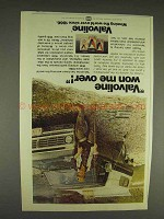1977 Valvoline Oil Ad - Wow Me Over