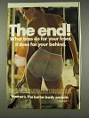1977 Warner's The End Brief Ad - For Your Behind