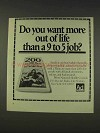 1977 National Health Council Ad - More Out Of Life