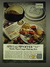 1977 Nordic Ware Crepe Making Kit Ad