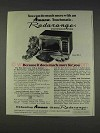 1977 Amana Model RR-9 Microwave Oven Ad