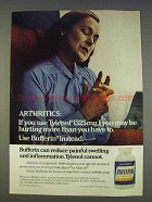 1977 Bufferin Medicine Ad