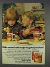 1977 Lipton Cup-A-Soup Ad - So Good So Fast