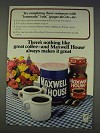 1977 Maxwell House Coffee Ad - Try Completing