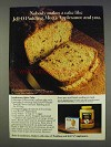 1977 Jell-O Pudding, Mott's Apple Sauce Ad - Spice Cake