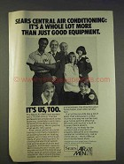 1977 Sears Central Air Conditioning Ad - Lot More