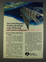 1977 Rockwell International Ad - The Earth Program