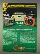 1977 Kmart Ad - GE Music Machine, MacDonald Stereo