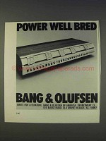 1977 Bang & Olufsen Beomaster 4400 Ad - Well Bred