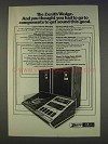 1977 Zenith The Wedge JR596W Stereo & Speakers Ad