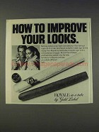 1977 Gold Label Royale Cigar Ad - Improve Your Looks