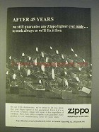 1977 Zippo Cigarette Lighters Ad - After 45 Years