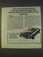 1977 Mercedes-Benz Car Ad - Shrewd Americans