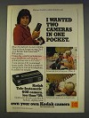 1977 Kodak 608 Camera Ad - Michael Landon