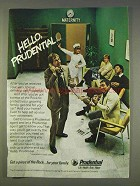 1977 Prudential Insurance Ad - Hello