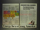 1977 Exxon Oil Ad - Conserving Energy