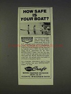 1977 Mirro-Craft 14-foot Resort Boat Ad - How Safe