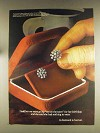 1976 De Beers Diamonds Ad - Out on the Town