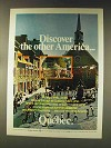 1976 Quebec Canada Ad - Discover Other America
