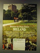 1976 Ireland Tourism Ad - Discover the Magic