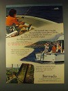 1976 Bermuda Tourism Ad - We Hooked Into a Marlin