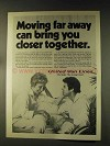 1976 United Van Lines Ad - Moving Far Away