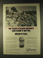 1976 Great Lakes Chemical Brom-o-Gas Ad