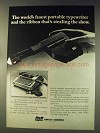 1976 Smith-Corona Cartridge Ribbon Typewriter Ad