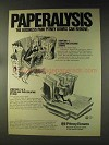 1976 Pitney Bowes Postage Meters and PBC Copiers Ad