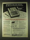 1976 Chafitz Rockwell Deluxe Printing Calculator 82R Ad