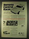 1976 Remote Control Racer Car Toy Ad