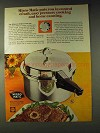 1976 Deluxe Mirro-Matic Pressure Cooker Ad - In Control