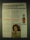 1976 Clairol Loving Care Haircolor Ad - Gray Hair