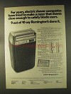 1976 Remington Soft Touch Electric Razor Ad - For Years