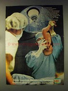 1976 Pampers Diapers Ad - More Hospitals Depend On