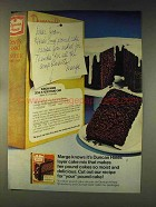 1976 Duncan Hines Devil's Food Deluxe II Cake Mix Ad