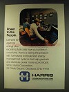 1976 Harris Microplex Energy Management System Ad
