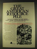 1976 American Can Company Ad - Resource Pile