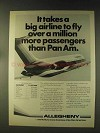 1976 Allegheny Airlines Ad - More Than Pan Am