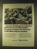 1976 Alcoa Aluminum Ad - Cash For Recycling