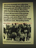 1976 Alcoa Aluminum Ad - All Sorts Are Collecting