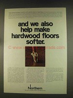 1976 Northern Natural Gas Ad - Hardwood Floors
