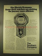 1976 Southern Company Ad - Some Clock Watchers