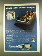 1976 Panasonic CT-215 and CT-905 Televisions Ad