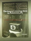 1976 Sony Televisions Ad - Longest Running Show