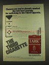 1976 Lark Cigarettes Ad - Chances Are You've Smoked